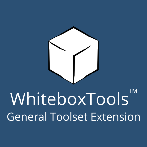 WhiteboxTools General Toolset Extension Student License