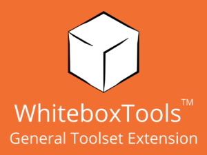 WhiteboxTools General Toolset Extension Academic License