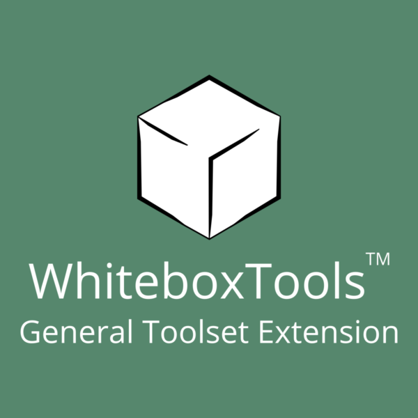 WhiteboxTools General Toolset Extension Government and Private Sector License