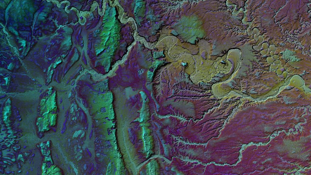 DEM DTM Multiscale Local Topographic Position