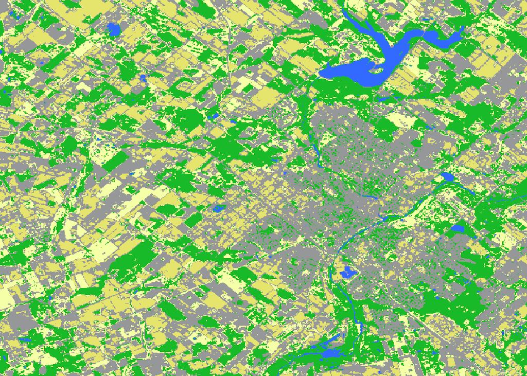 Minimum Distance Classification Whitebox Geospatial General Toolset