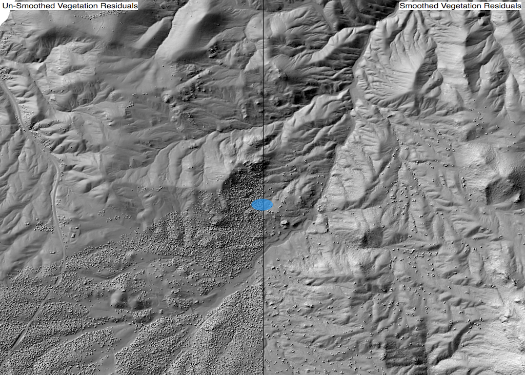 Smooth Vegetation Residuals Whitebox Geospatial General Toolset
