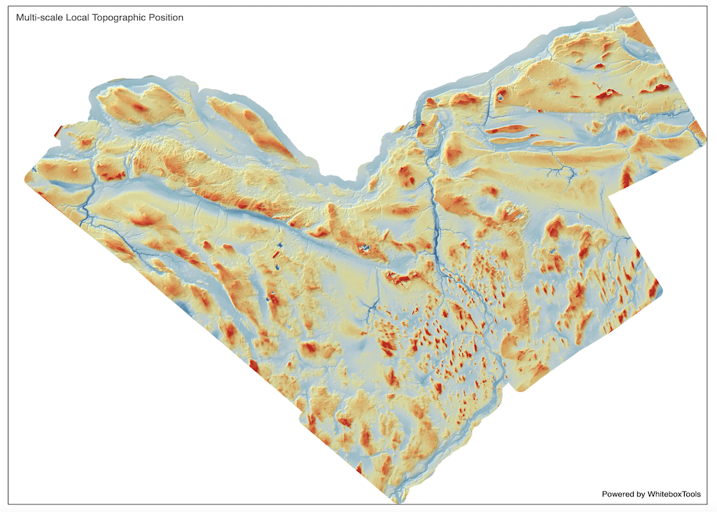 Topographic Position Animation Whitebox Geospatial General Toolset