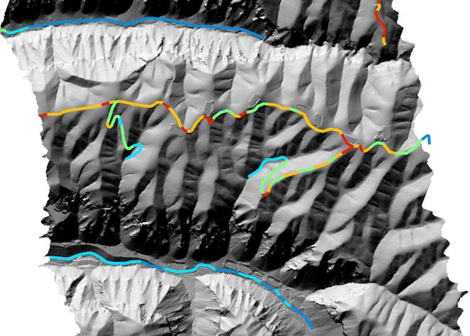 AssesRoutes Tool Whitebox Geospatial General Toolset