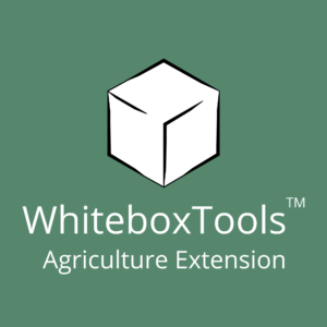 Whitebox Geospatial Agriculture Extension WhiteboxTools Extensions