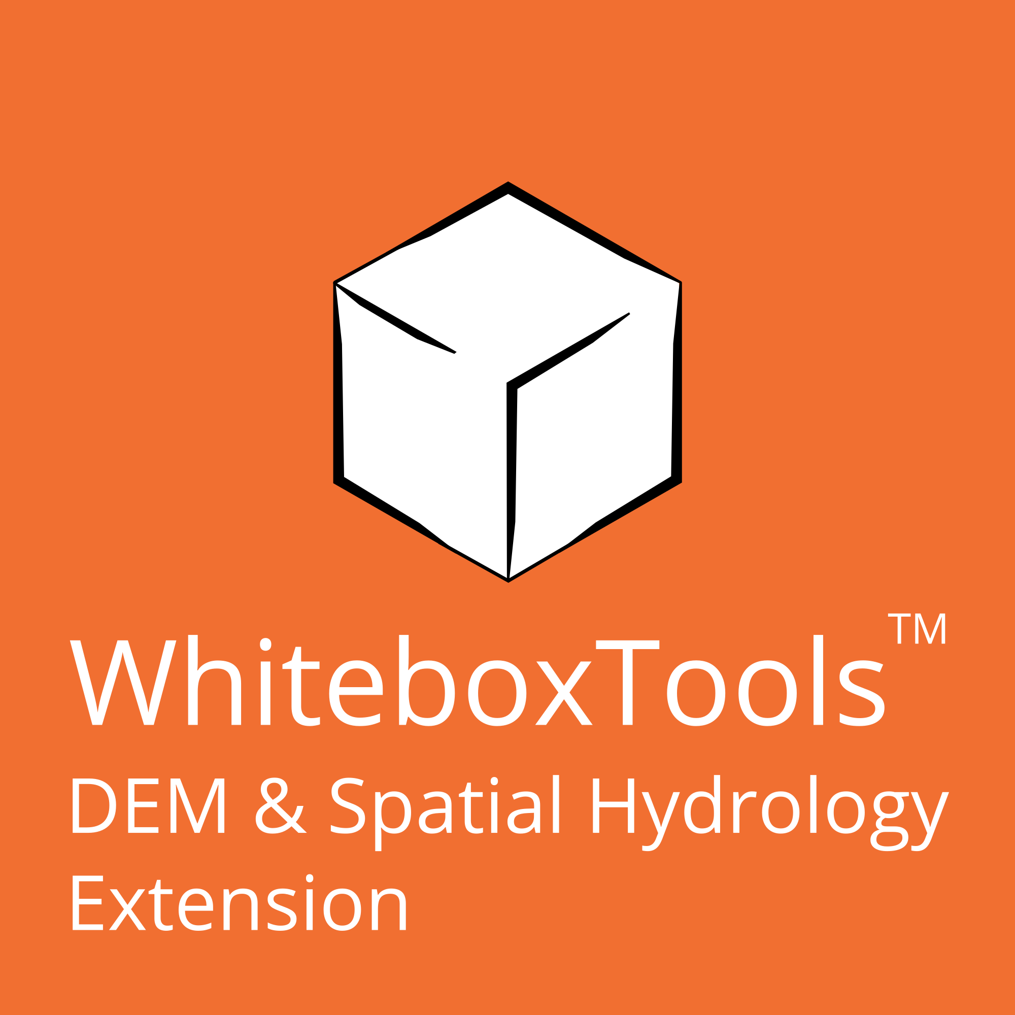 Whitebox Geospatial DEM and Spatial Hydrology Extension WhiteboxTools Extensions