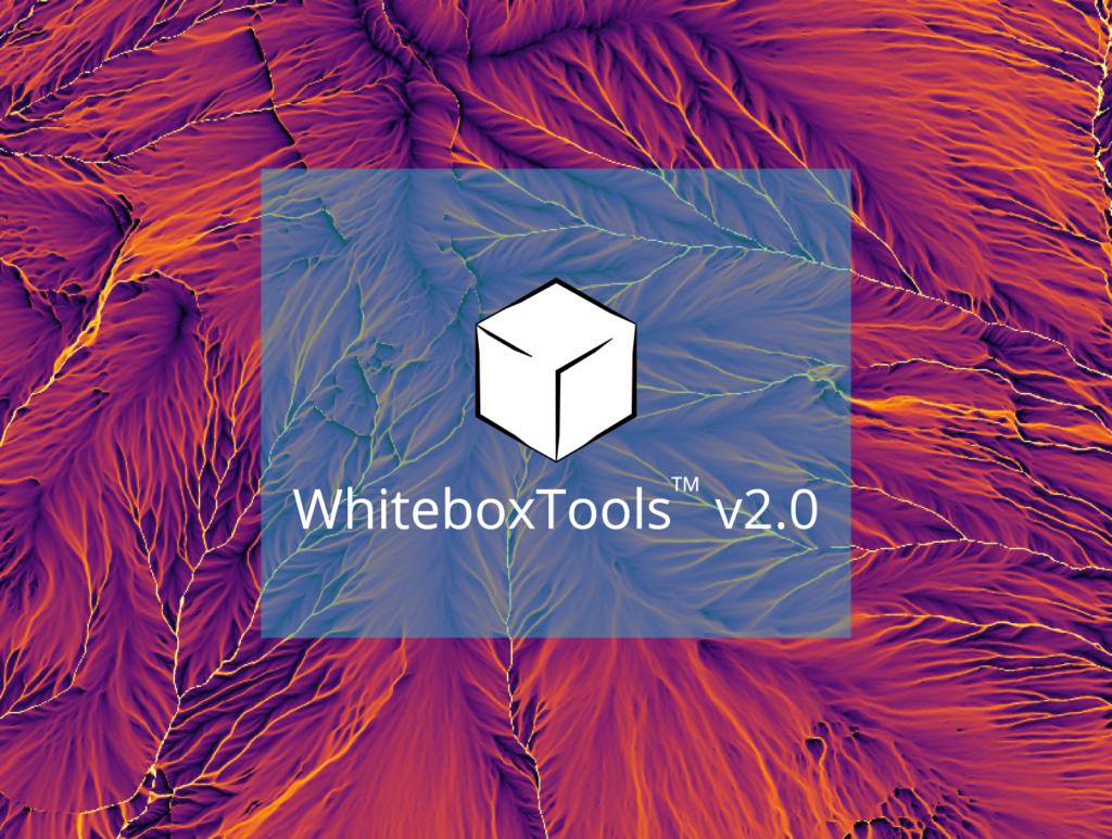 WhiteboxTools 2.0 Whitebox Geospatial Inc Whitebox Extensions WhiteboxTools Logo